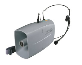 拡声器 ユニペックス ホイッスル付 ミニメガホン・ウエストホン TRC-3WH