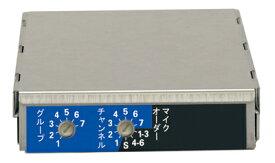 ユニペックス 800MHz帯 ダイバシティワイヤレスチューナーユニット DU-850A