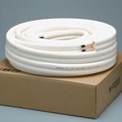 メック エアコン用銅管パイプ 2分3分 ペアコイル M-P23(20M) 切り売り 両端フレア加工済 50cm単位
