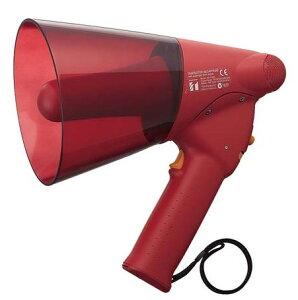 拡声器 TOA サイレン音付ハンド型メガホン 6W ER-1106S