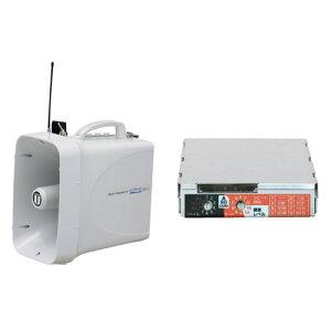 拡声器 選挙用大型メガホンSD再生セット TWB-300N SDU-300