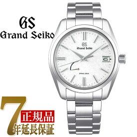セイコー GRAND SEIKO Heritage Collection Traditional メンズ 腕時計 ホワイト SBGA465