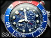 精工计时仪人手表潜水员太阳能红×burubezeruburudaiaruuretamberuto SSC031P1※在商品标识有式样变更的可能性