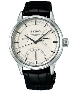【SEIKOPRESAGE】セイコープレザージュ自動巻きメンズ腕時計ホワイトSARD009