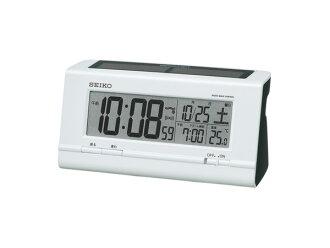 Seiko SEIKO solar radio clock alarm clock SQ766W