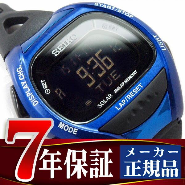 【SEIKO PROSPEX】セイコー プロスペックス スーパーランナーズ ソーラー デジタル腕時計 ランニングウォッチ ブルー SBEF029【ネコポス不可】【あす楽】
