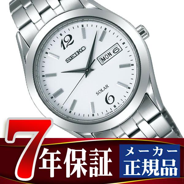 【SEIKO SPIRIT】セイコー スピリット ペアモデル ソーラー メンズ 腕時計 SBPX079
