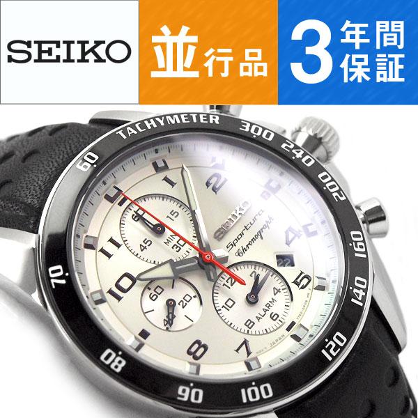 【逆輸入SEIKO】セイコー スポーチュラ クォーツ メンズ 腕時計 SNAF35P1