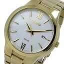 【逆輸入SEIKO】セイコー SEIKO ソーラー SOLAR クオーツ メンズ 腕時計 SNE390P1 ホワイト