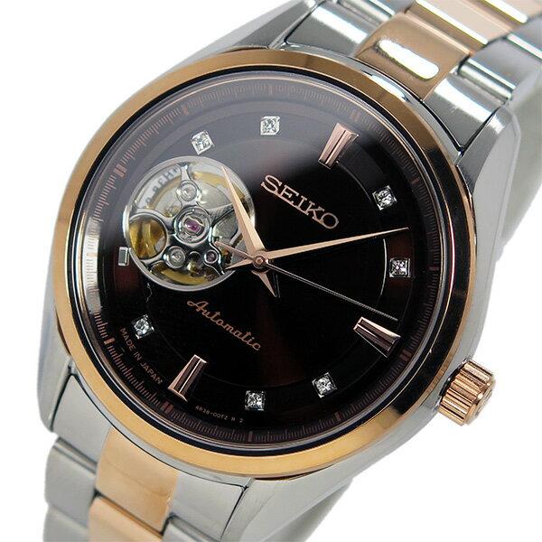 【日本製 逆輸入SEIKO】セイコー SEIKO プレサージュ 自動巻き メンズ 腕時計 SSA864J1 ブラウン