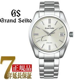【当店限定豪華4点セットおまけ付き】セイコー GRAND SEIKO Heritage Collection Heritage Collection スプリングドライブ スタンダードデザイン メンズ 腕時計 シルバー SBGA437