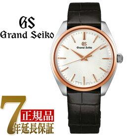 【当店限定豪華4点セットおまけ付き】セイコー GRAND SEIKO Elegance Collection Elegance Collection ドレスデザイン T18KPGペアモデル メンズ 腕時計 シルバー(放射型打ち) SBGX344