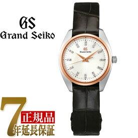 【当店限定豪華4点セットおまけ付き】セイコー GRAND SEIKO Elegance Collection Elegance Collection ドレスデザイン T18KPGペアモデル レディース 腕時計 シルバー(放射型打ち) STGF350