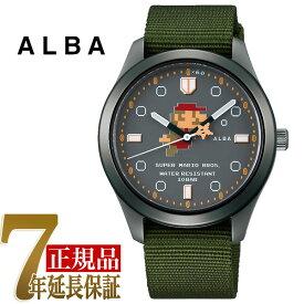 【正規品】セイコー アルバ SEIKO ALBA クォーツ メンズ 腕時計 スーパーマリオコラボ アクティブマリオシリーズ ACCK424
