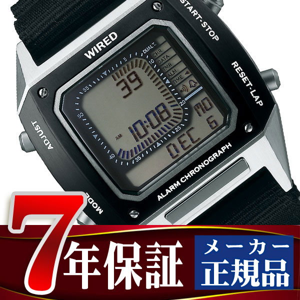 【7年保証】【正規品】【送料無料】セイコー ワイアード ソリディティ SEIKO WIRED SOLIDITY デジタル クロノグラフモデル メンズ 腕時計 AGAM403 Featuring BEAMS モデル