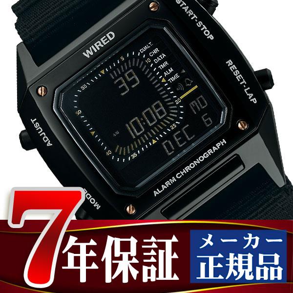 【7年保証】【正規品】【送料無料】セイコー ワイアード ソリディティ SEIKO WIRED SOLIDITY デジタル クロノグラフモデル メンズ 腕時計 AGAM404 Featuring BEAMS モデル