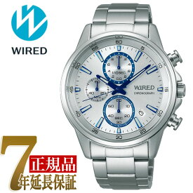 【正規品】セイコー ワイアード SEIKO WIRED クオーツ クロノグラフ メンズ 腕時計 AGAT425