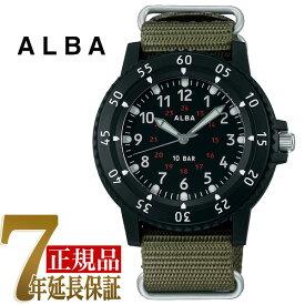 【正規品】セイコー アルバ SEIKO ALBA クオーツ メンズ 腕時計 AQPK418