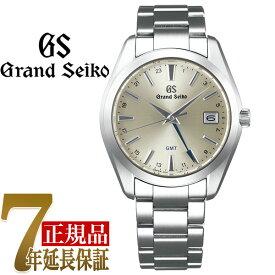 【当店限定豪華4点セットおまけ付き】【正規品】グランドセイコー GRAND SEIKO 9FクオーツGMT メンズ 腕時計 シルバー(厚銀放射) SBGN011