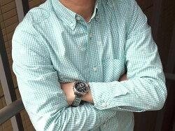 【ポイント10倍】【おまけ付き】【SEIKOBRIGHTZ】セイコーブライツソーラー電波クロノグラフメンズ腕時計コンフォテックスSAGA193
