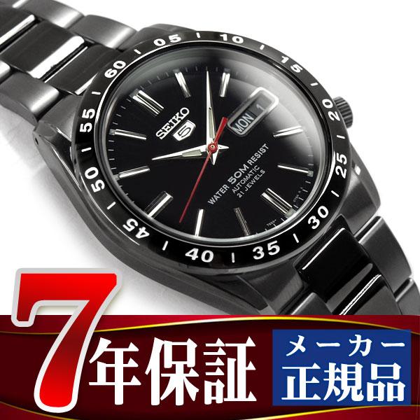 セイコー セイコー5 SEIKO5 セイコーファイブ メンズ 腕時計 SNKE03K 逆輸入セイコー 自動巻き メカニカル 機械式 ブラック メタルベルト SNKE03K1 SNKE03KC 正規品 7年保証 メンズ 腕時計 男性用 seiko5 日本未発売 ビジネス【あす楽】