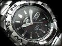 セイコー セイコー5 スポーツ SEIKO5 SPORTS セイコーファイブスポーツ メンズ 腕時計 SNZJ05J セイコー 逆輸入 自動巻き メカニカル ブラック メタルベルト 日本製 SNZJ0