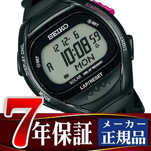 【SEIKO PROSPEX】セイコー プロスペックス スーパーランナーズ ランニング用 デジタル 腕時計 ソーラー ブラック SBEF001 【正規品】