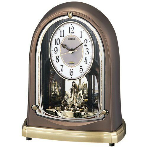 Seiko Radio Table Clock On The Hour Melody BY230H.