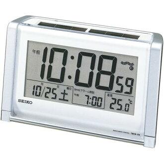 精工混合太阳能收音机闹钟 SQ672S