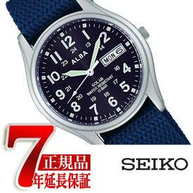 【正規品】セイコー アルバ SEIKO ALBA ソーラー メンズ 腕時計 ペアモデル ミリタリー AEFD556
