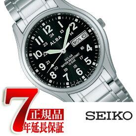 【正規品】セイコー アルバ SEIKO ALBA ソーラー メンズ 腕時計 ペアモデル AEFD560