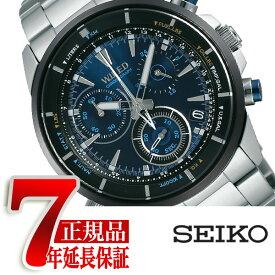 【正規品】セイコー ワイアード SEIKO WIRED 腕時計 メンズ ザ・ブルー THE BLUE クロノグラフ クォーツ ブルー AGAW441