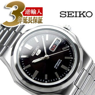 85d1acc7c Categories. « All Categories · Watches · Men's Watches · Seiko 5 men's  automatic self-winding watches two tone black dial ...