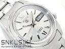 【逆輸入SEIKO5】セイコー5 メンズ 自動巻き 腕時計 シルバーダイアル シルバーコンビステンレスベルト SNKL51K1