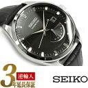 【逆輸入SEIKO】セイコー SEIKO キネティック クオーツ メンズ 腕時計 SRN045P2 ブラック