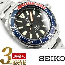 【逆輸入 SEIKO PROSPEX】セイコー プロスペックス サムライ PADIコレクション DIVER'S 200m 自動巻き 手巻き付き機械式 メンズ 腕時計 ダイバーズ ブラックダイアル ステンレスベルト SRPB99K1【あす楽】