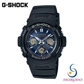 G-SHOCK ジーショック CASIO カシオ BASICモデル 電波ソーラー 腕時計 AWG-M100SB-2AJF