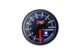 オートゲージ タコメーター PK 60Φ アンバーレッドLED切替機能付 ワーニング機能付 ピークホールド機能付 送料無料 60PKTAB