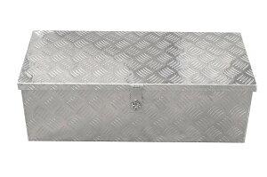 【ポイント10倍】軽トラ荷台ボックス 軽トラック用 アルミボックス 工具箱 ツールボックス 760×320×250mm 鍵付き 大型 アルミ工具箱 BOX 送料無料 A35A