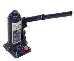 油圧ジャッキ 3t 安全弁付き ボトルジャッキ ジャッキ ダルマジャッキ タイヤ交換 [油圧式ジャッキ 油圧 ジャッキ だるまジャッキ 手動 車 タイヤ 交換] 送料無料 A58G