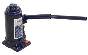 油圧ジャッキ【だるまジャッキ】 10t 10トン ボトルジャッキ 安全弁付 小型 簡単 タイヤ交換 送料無料 A58I