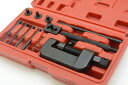 チェーンカッター カシメ工具セット 対応チェーン420 425 428 520 525 530 630 ツール チェーン 交換 工具 自転車 バ…