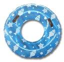 浮き輪 95cm ジャンボ浮き輪 取っ手付 空気入れ 浮輪 うきわ ドーナツ プール 海 海水浴 ウォータースライダー リゾー…