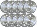 【10枚セット】草刈 チップソー 草刈用 替え刃 草刈機用チップソー 230mm×36P [草刈機 刃 刈払機 チップソー 刈 草…