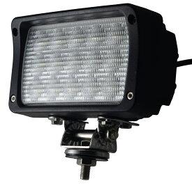 12V LED作業灯 24V 12V 対応 45W 15連 LEDワークライト LED 作業灯 ワークライト 車 軽トラ トラック 重機 船舶 荷台灯 LEDライト サーチライト 集魚灯 集魚ライト led 投光器 角型 広角 汎用 防水 送料無料 LEDWL045