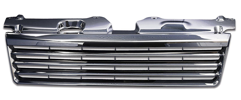 【ポイント10倍】フロントグリル ステップワゴン stepwagon honda RF3 RF4 前期 (H13.4〜H15.5) ホンダ フィングリル メッシュグリル 交換 パーツ メッキグリル グリル ダクトグリル 送料無料 SDF002
