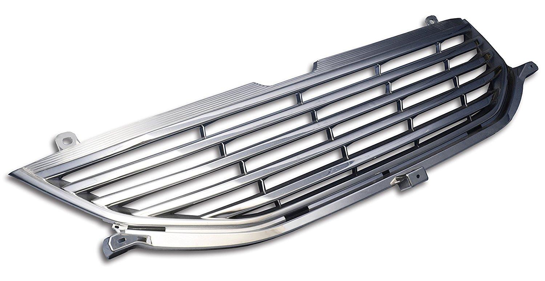 【ポイント10倍】フロントグリル オデッセイ RB3 RB4 (H20年9月〜) odyssey ホンダ フィングリル メッシュグリル 交換 パーツ メッキグリル グリル ダクトグリル 送料無料 SDF020