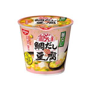日清麺なしどん兵衛 鯛だし豆腐スープ 11g×6個入り (1ケース) (MS)