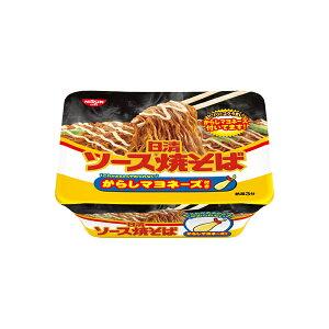 日清 ソース焼そばカップ からしマヨネーズ付き 108g×12個入り (1ケース) (MS)