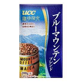 UCC 珈琲探究 ブルーマウンテンブレンド VP 200g×24本入り (1ケース) (MS)